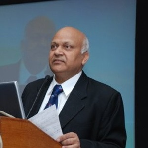 NK Goyal speaking at Connected India