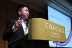 Mr Benjamin Png speaking at Healthcare World Asia 2014