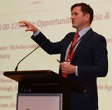 Mr Daniel Hough speaking at Agriculture Investment Summit 2014