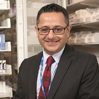 Jatinder Harchowal, Chief Pharmacist / Clinical Director, Medicines Management & Clinical Support Services Business Unit Pharmacy Dept, The Royal Marsden NHS Foundation Trust